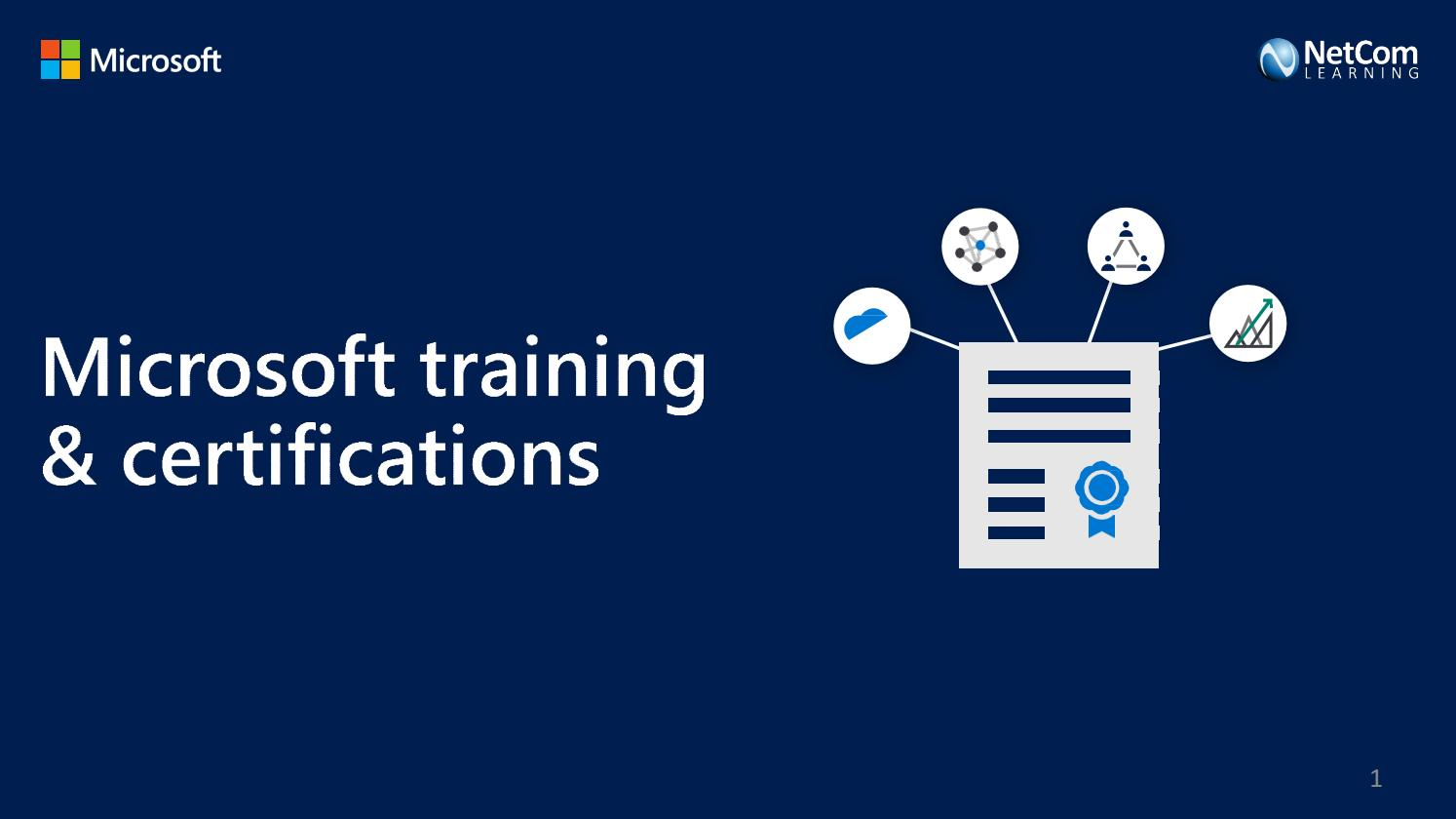 Microsoft Certifications as an educational path towards becoming a software developer